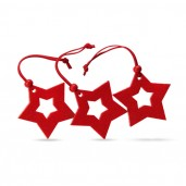Star shape felt tree hanger