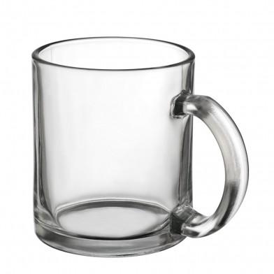 Coffee mug made of glass