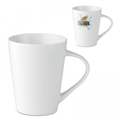 250 ml procelain conic mug