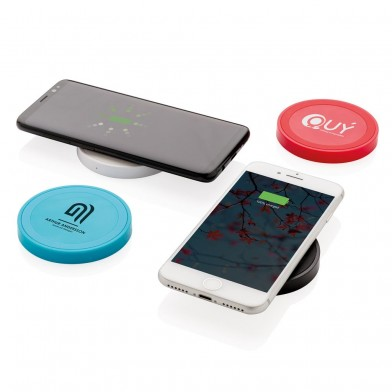 5W wireless charging pad round
