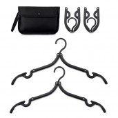 Set of 2 foldable hangers