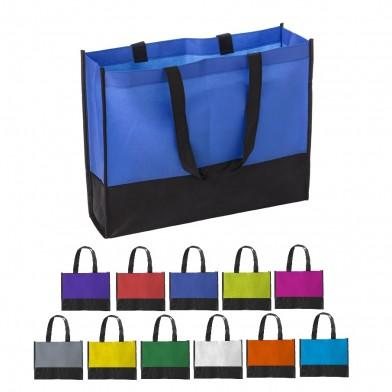 Bi-coloured shopping bag