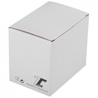 Cardboard box for a glass