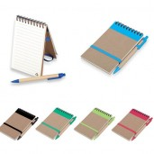 Eco notepad wiith pen