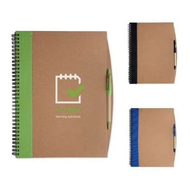 A4 recycled notebook