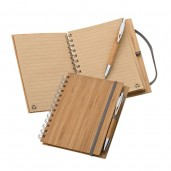 Notebook A5 from bamboo