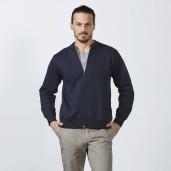 Men's zipper sweatshirt