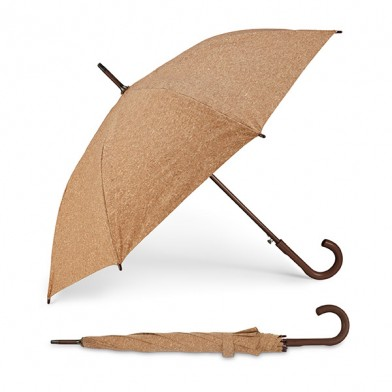 Automatic cork umbrella