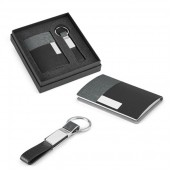 Business Card holder with Key Ring