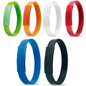 Silicone bracelet with metal plate, suitable for printing