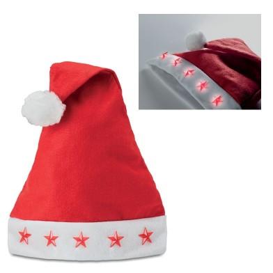 Коледна шапка с LED