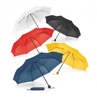 Рекламен компактен чадър