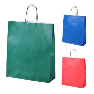 Рекламна хартиена торбичка с усукани дръжки