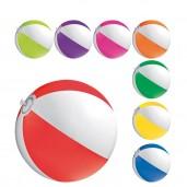 Двуцветна плажна топка