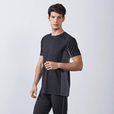 Спортна мъжка тениска, дишаща материя