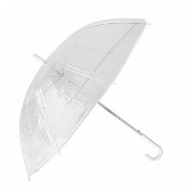 Прозрачен чадър
