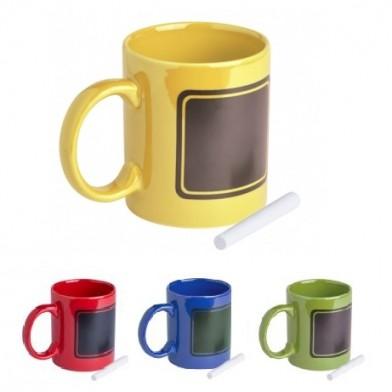 Керамична чаша с тебешир