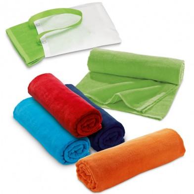 Плажна кърпа с чанта